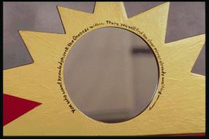 Spirit House sun panel